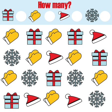 Math Educational Game For Children. Counting Equations. Addition ...