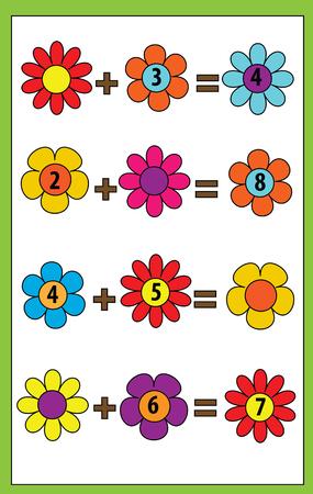 Wörter Puzzeln Kinder Lernspiel Mit Zahlencode. Platziere Die ...