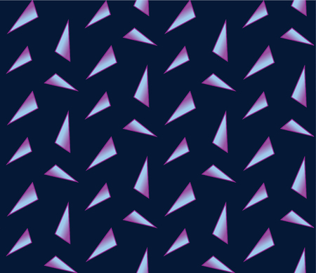 Abstract background, pattern with holographic triangle shapes.