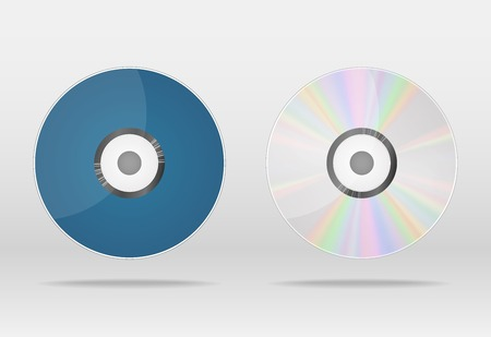 compact disk: Vector compact disk