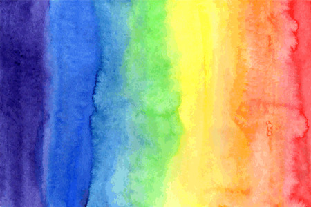 Abstract watercolor rainbow colors background 版權商用圖片 - 38967186