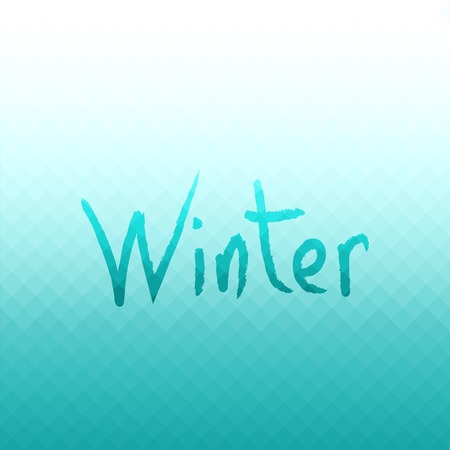 winter colors: Abstract vector background. Winter colors.