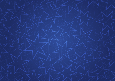blue stars: Abstract blue background with stars.