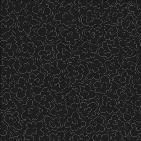 Popcorn seamless pattern