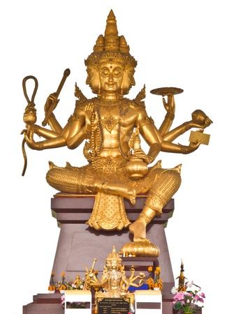 asian indian: Brahma in Thailand