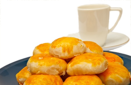 prefix: the prefix of making some nouns into the sweetmeats eaten in Thailand Stock Photo