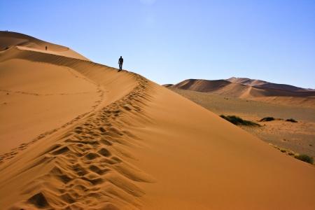 Sand dune in Namib-Naukluft National Park, Namibia Stock Photo - 17024314