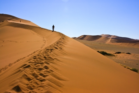 Sand dune in Namib-Naukluft National Park, Namibia Stock Photo - 17024314