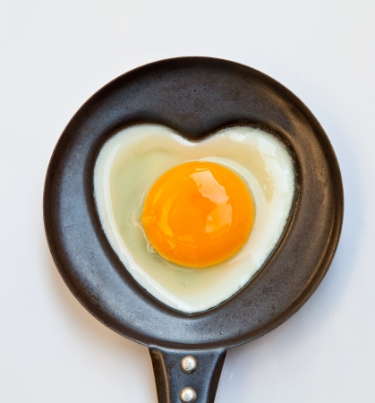 times for your health with fried egg Stock Photo - 17113071