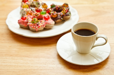 coffeetime: coffeetime in the morning with cookie Stock Photo