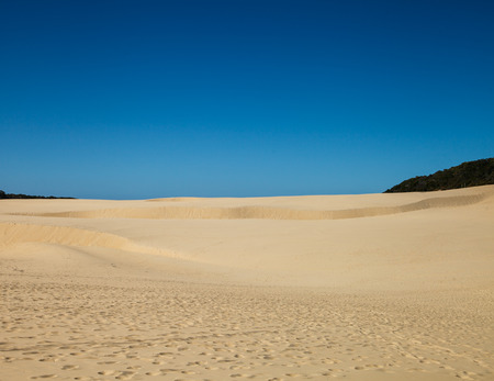 fraser island: Sandblow in fraser island Austaralia Stock Photo