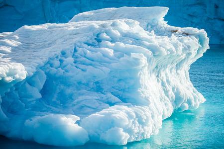 mooie ijsberg in Noordpoolgebied Stockfoto