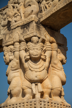 emperor ashoka: The Great Stupa at Sanchi is the oldest stone structure in India[1] and was originally commissioned by the emperor Ashoka in the 3rd century BCE.