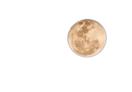 full moon at night time by photo