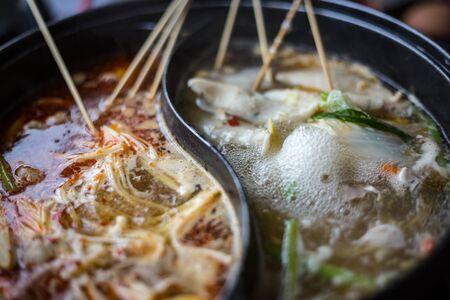 sichuan pepper shabu  on pot for mealtime