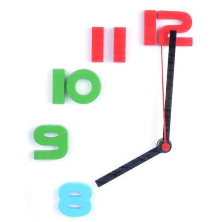 Clock 08:00 Imagens