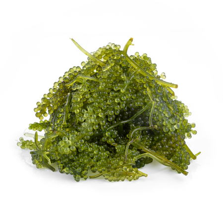 Sea Grapes isolated on white Stock Photo