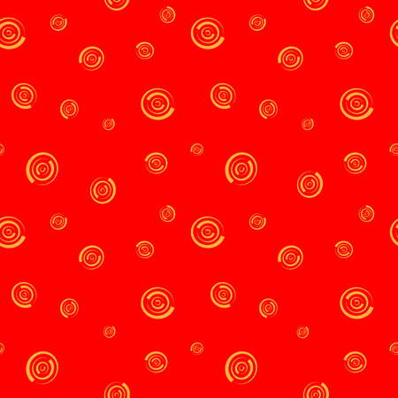 colorfull: Polka dot chaotic seamless pattern. Fashion graphic background design. Modern stylish abstract colorfull texture. Template for prints, textiles, wrapping, wallpaper, website Stock VECTOR illustration