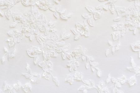 veters: Witte bruiloft kant voor achtergrond Stockfoto