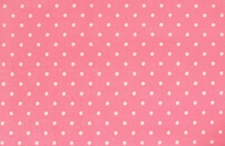 polka dot fabric: Rosa in tessuto a pois per lo sfondo Archivio Fotografico