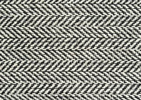 Closeup of wool herringbone fabric photo