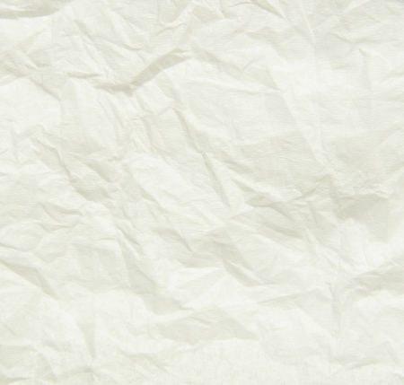 utilized: White wrinkled paper for background Stock Photo