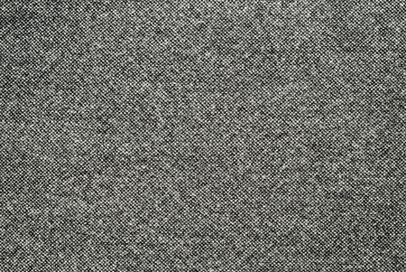 Black and white wool fabric for background