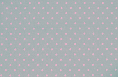polka dot fabric: Green and pink polka dot fabric for vintage background Stock Photo