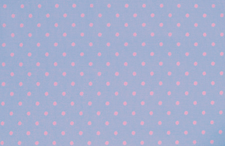 polka dot fabric: Blue and pink polka dot fabric for vintage background