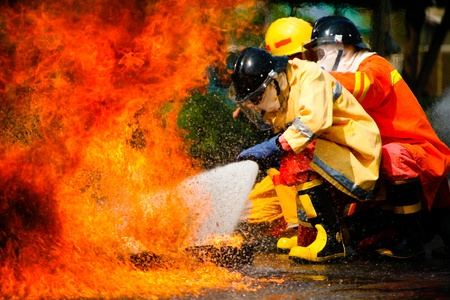 Fireman Stock Photo - 10540342