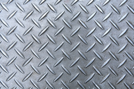 metal grid: diamond metal plate background