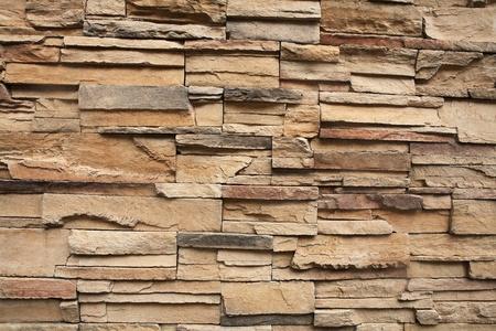 Close-up van een bakstenen muur, textuur achtergrond