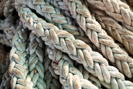 ship ropes as  texture