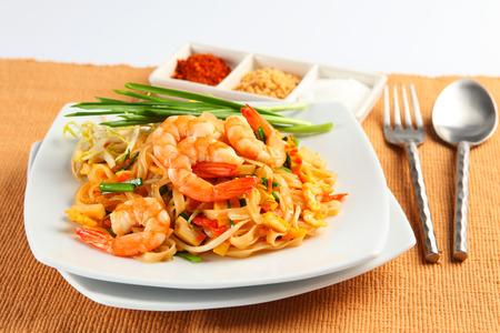 Shrimps Pad Thai, Thai Food