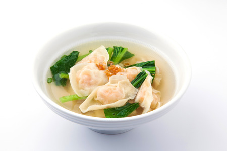 Shrimps Wonton Soup photo