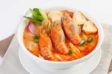 Tom Yum Soup Thai Food