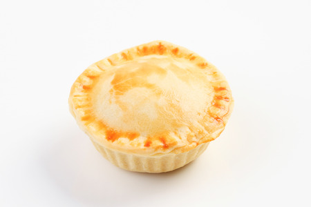 meat pie: Pie isolated on white background