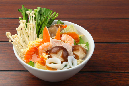 sukiyaki, asian cuisine Stock Photo