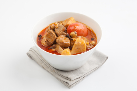 beef curry: beef massaman curry, thai food