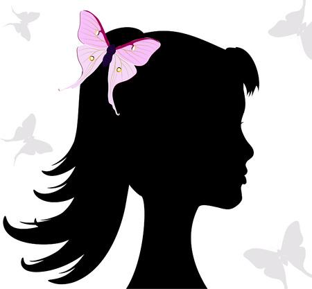 gir: butterfly gir Illustration