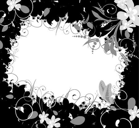 Flower Frame Stock Vector - 6241482
