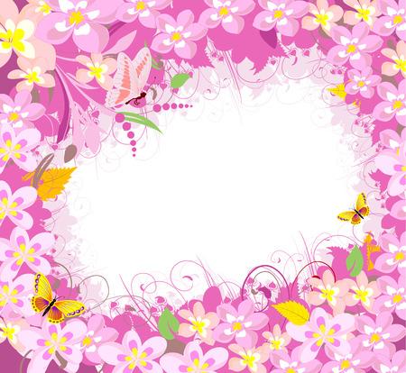 Flower Frame Stock Vector - 6292252