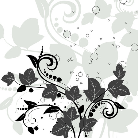 floral design Stock Vector - 6357369