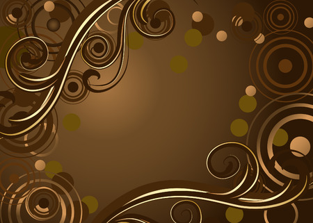 gold brown: background chocolate