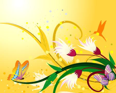 fantasía floral
