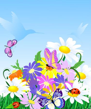 Wildflowers Stock Vector - 6425194