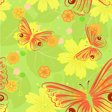 flore: floral seamless background
