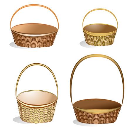 wicker basket: Wicker Basket