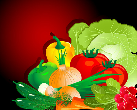 Vegetable set Stock Vector - 6513998