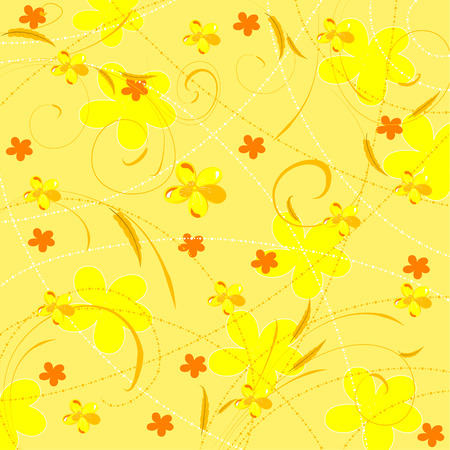 floral background Stock Vector - 6558220